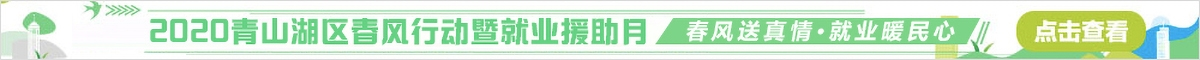 """2020年青山湖区""""春风行动暨就业援助月""""网络双选会活动"""